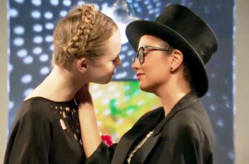 Lesbian Television Imogen & Jack (Degrassi) - Season 13