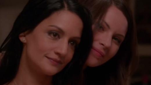 The Good Wife Kalinda And Lana Kiss