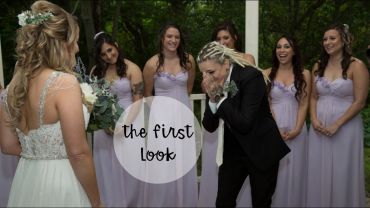 Marissa and Brittany – Our Wedding – First Look