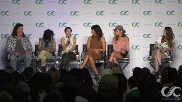 LGBTQ Actresses Panel ClexaCon 2018