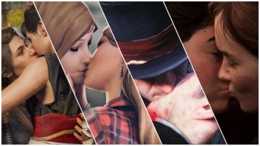 Best Videogame LGBT Kisses (Lesbian/Gay kisses)